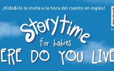 Storytime con Kids & Us en Espagat